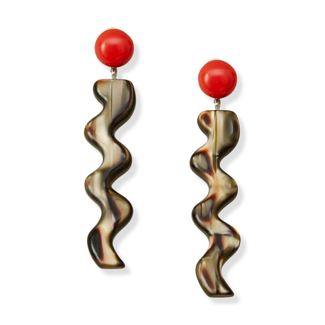 Rachel Comey Hurley Earrings in color Brass