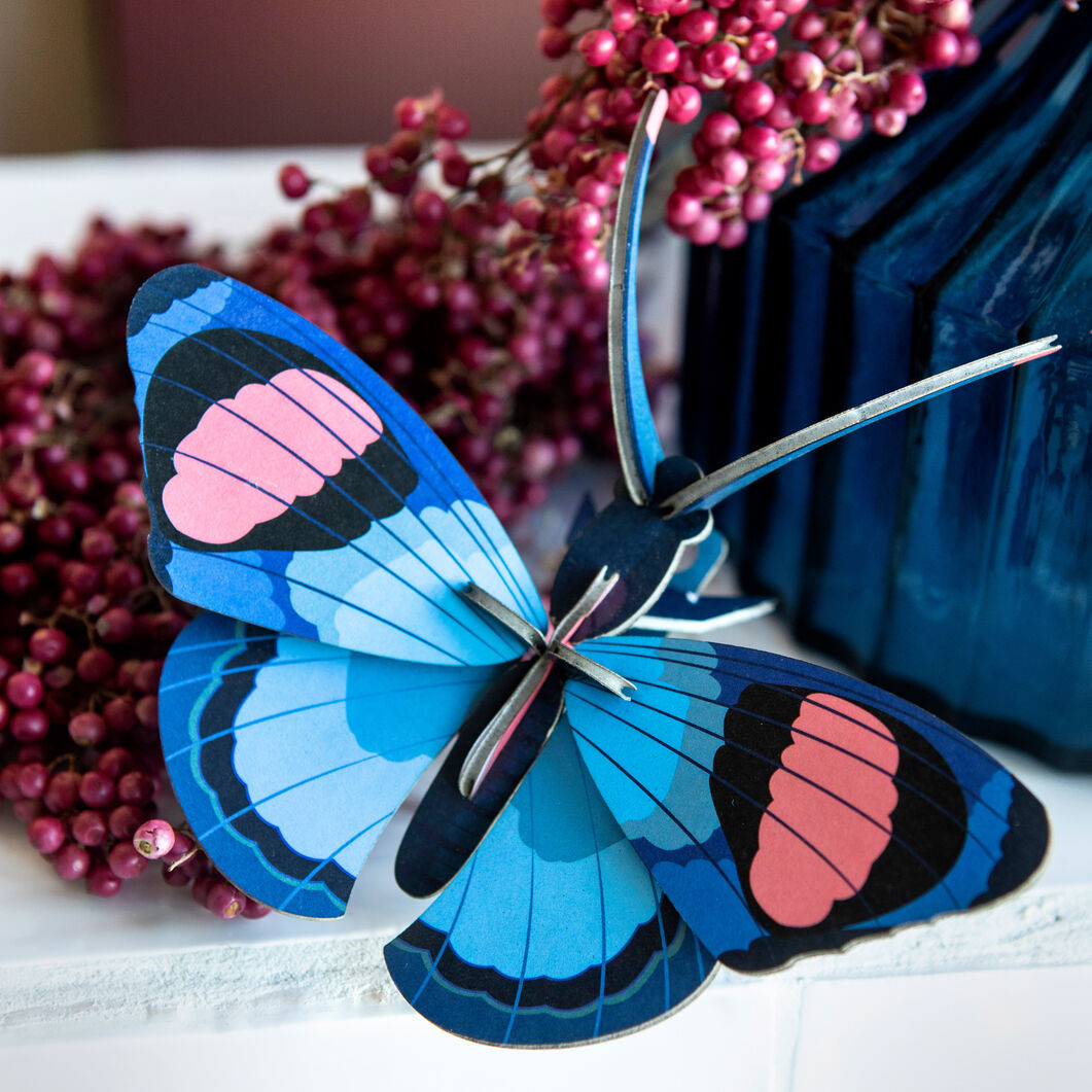 3D DIY Decorative Insects in color Peacock Butterfly
