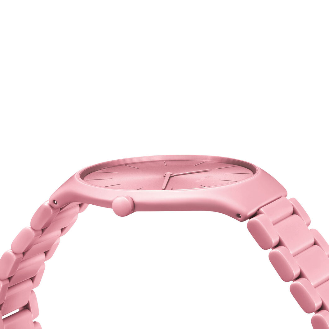 Rado True Thinlines Les Couleurs Le Corbusier Watch in color Pink
