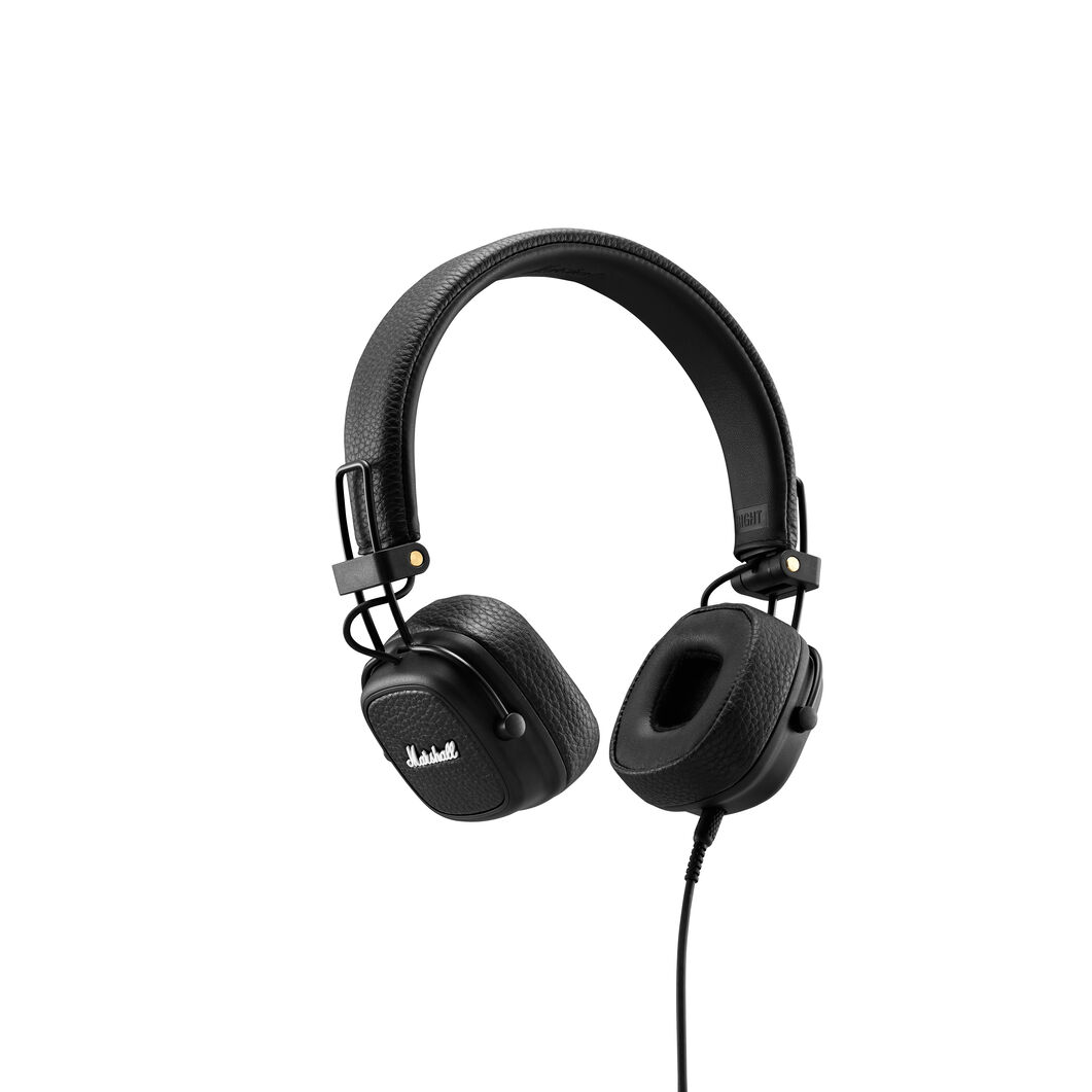 Marshall Major III Bluetooth Headphones in color Black