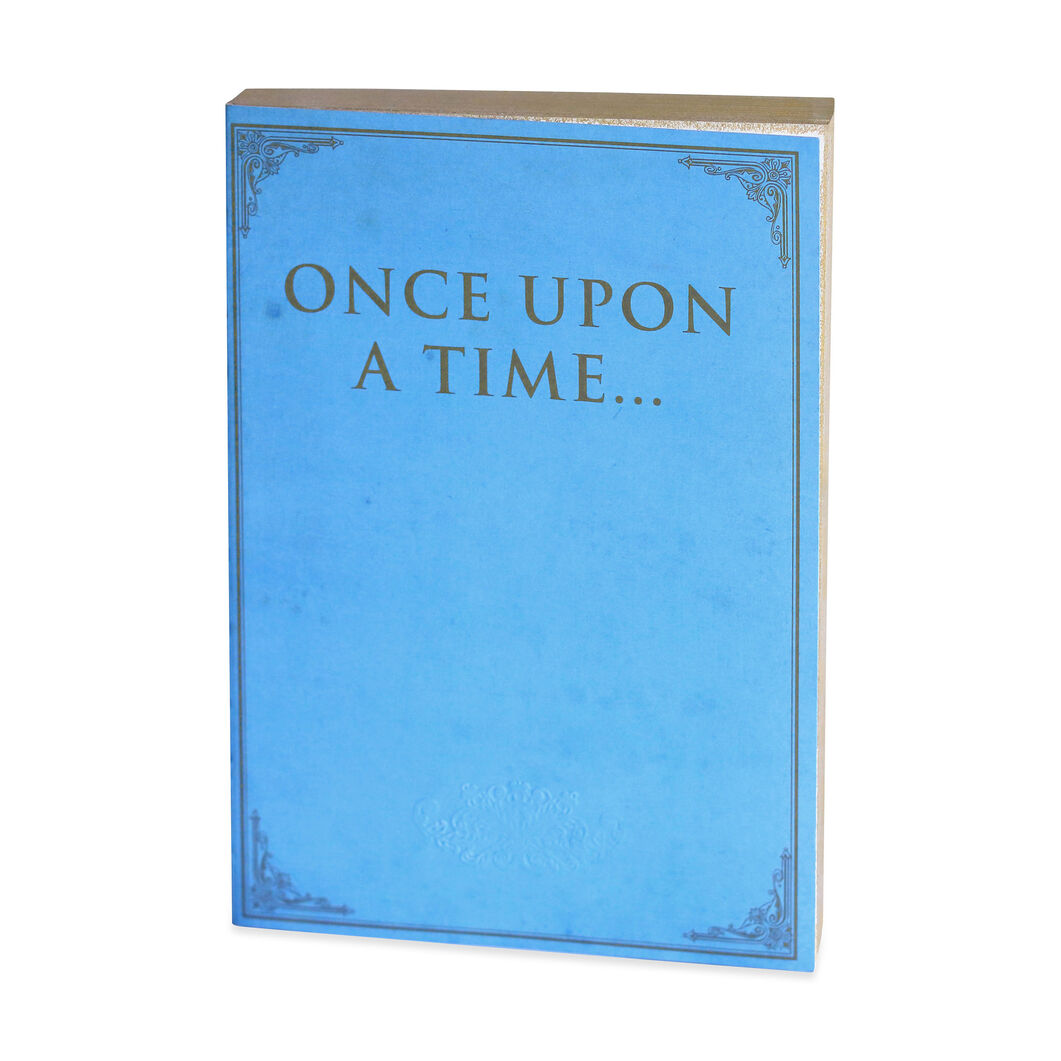 Once Upon a Time Notebook in color