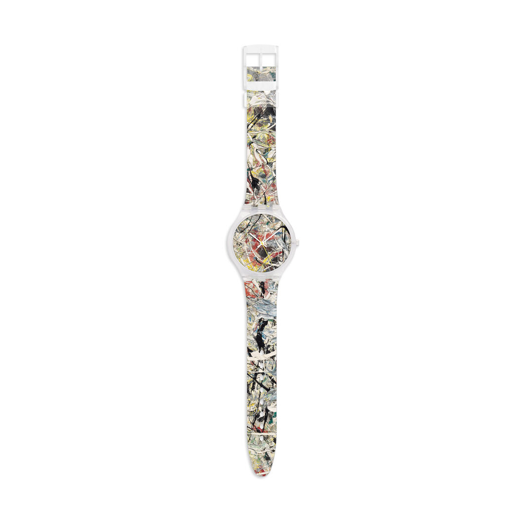 Pollock White Light Watch in color