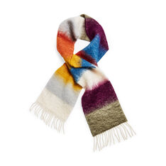 Mohair Impression Scarf in color Yellow/ Orange
