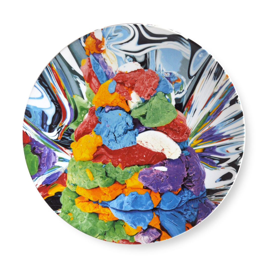 Jeff Koons: Play Doh Plate in color
