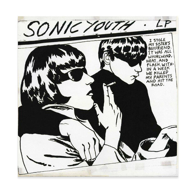 Sonic Youth: Goo Vinyl Record in color