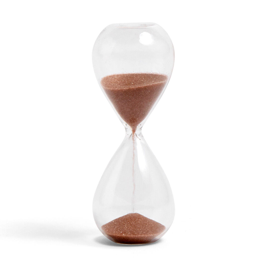 HAY Time Hourglass in color Copper