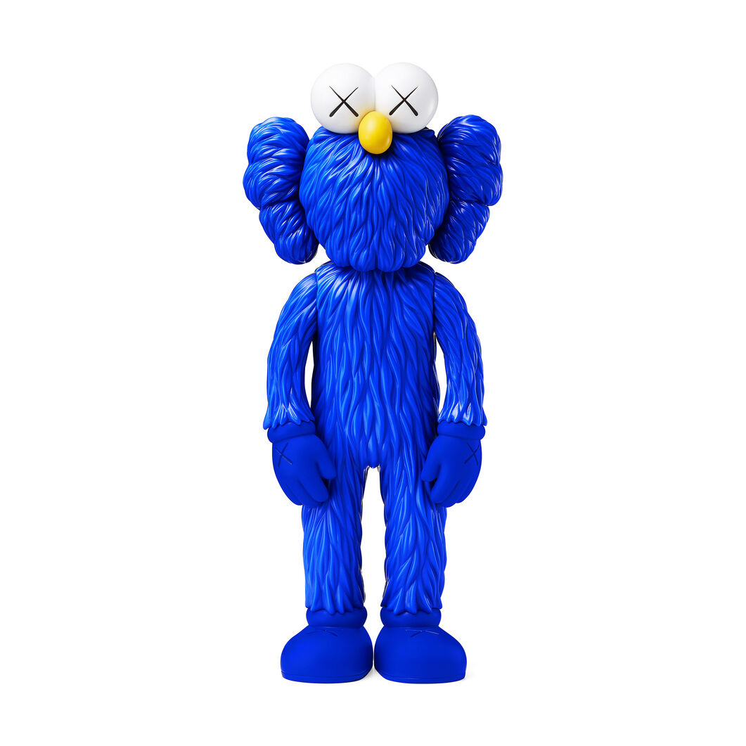 KAWS  BFF - Blue in color