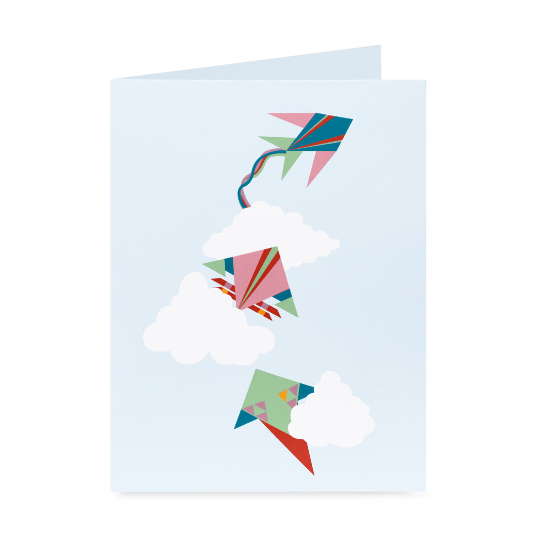 Soaring Kites Pop-Up Note Cards - Set of 6 in color