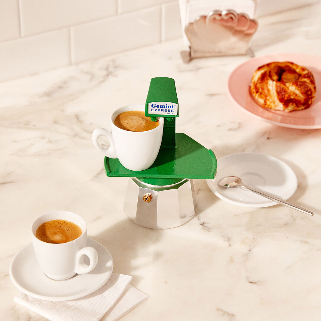 Gemini Espresso Maker in color