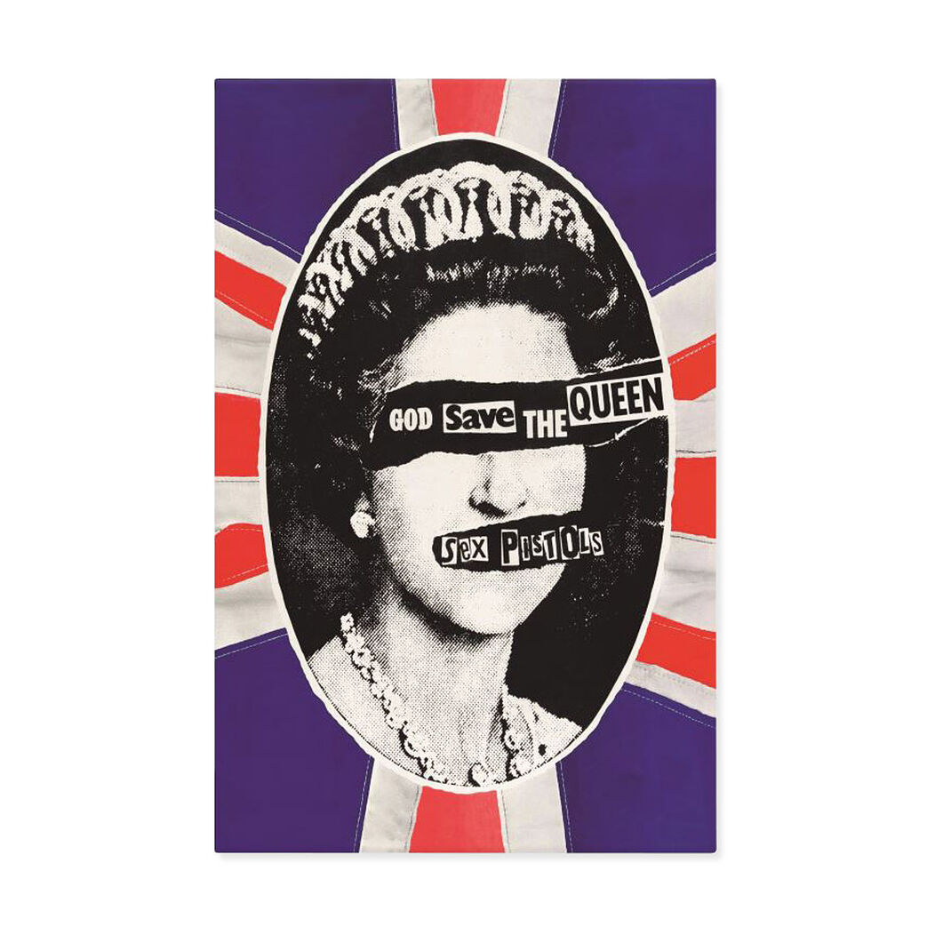 Sex Pistols: God Save the Queen Poster in color