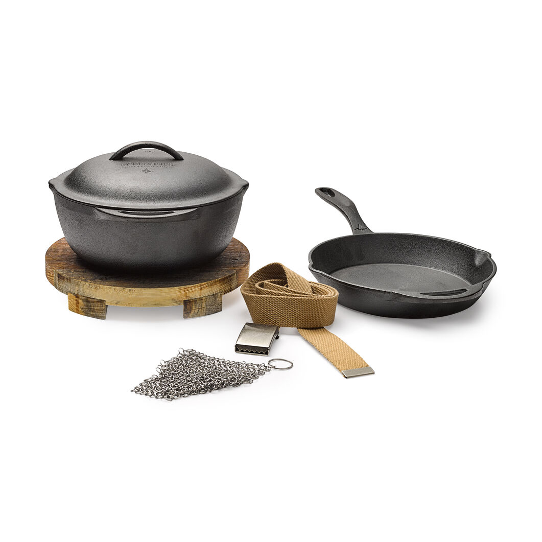Classic 3-Piece Cast Iron Kit in color