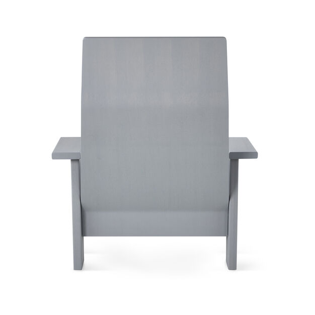 Quindici Chaise Longue in color Gray/ Wood