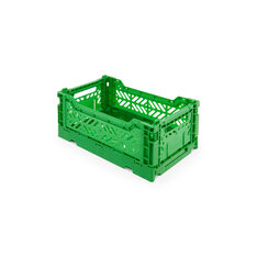 Collapsible Storage Bins in color Green