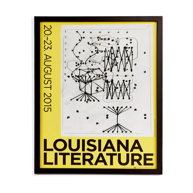 Terry Winters: Louisiana Literature Framed Poster in color