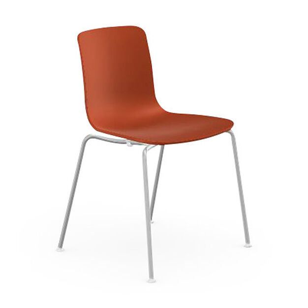 HAL Stackable Tube Chair in color Orange