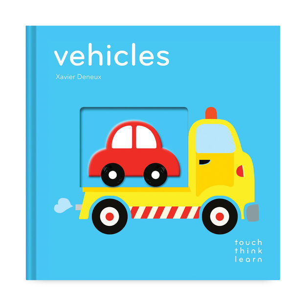 TouchThinkLearn: Vehicles in color