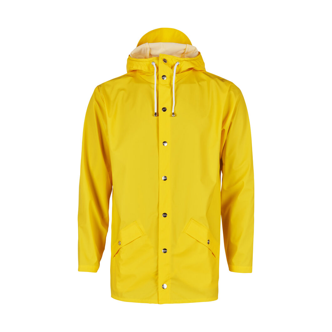 Rains Jacket in color Yellow