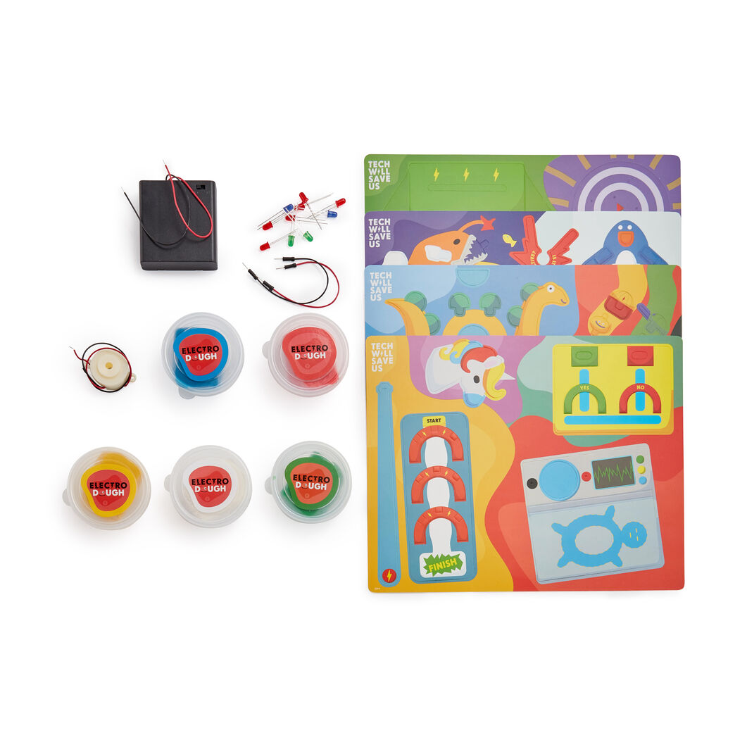 Electro Dough Project Kit in color