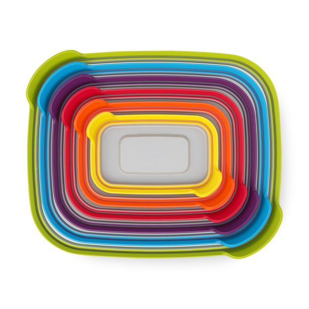 Rainbow Nesting Container Set in color