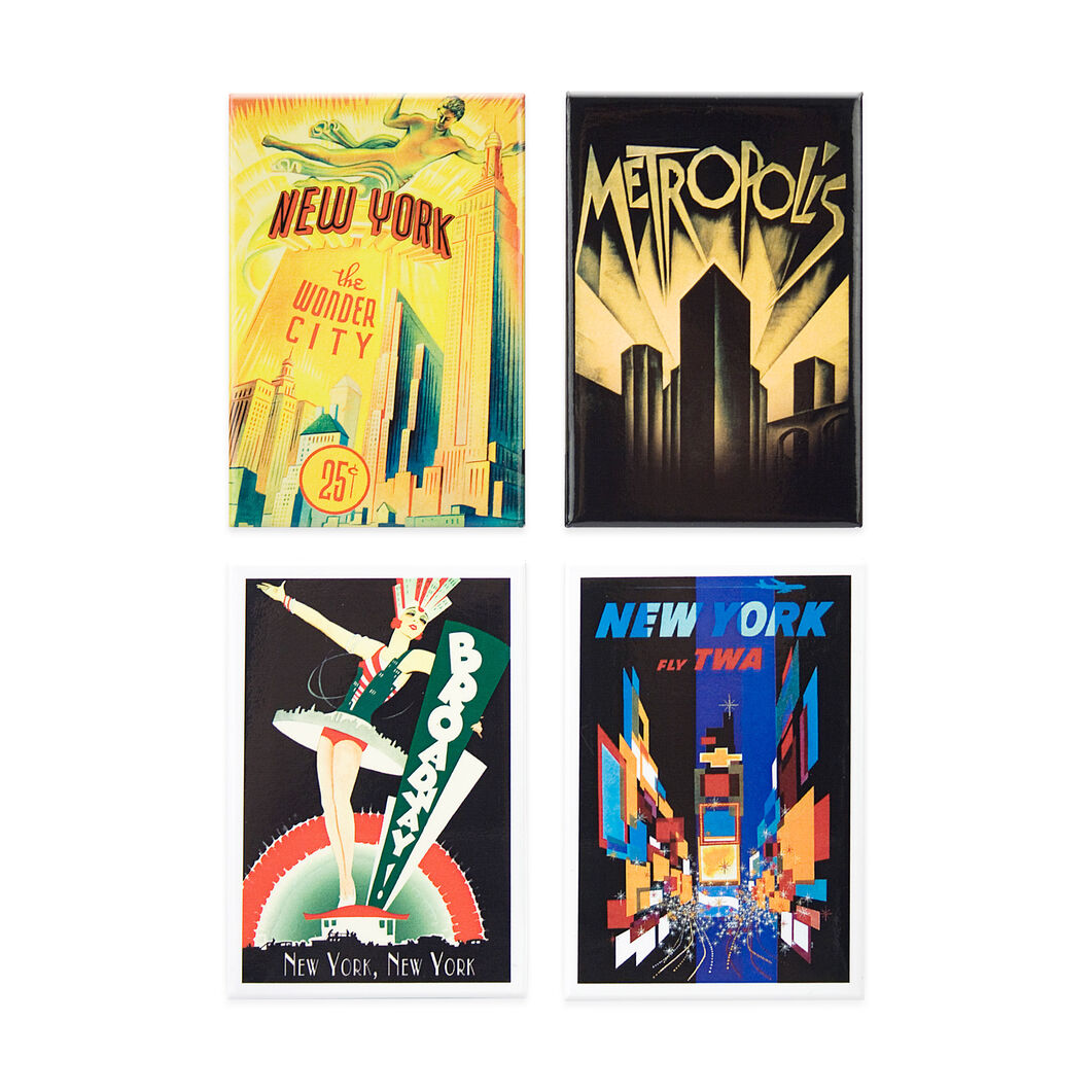 New York Movie Poster Magnets in color
