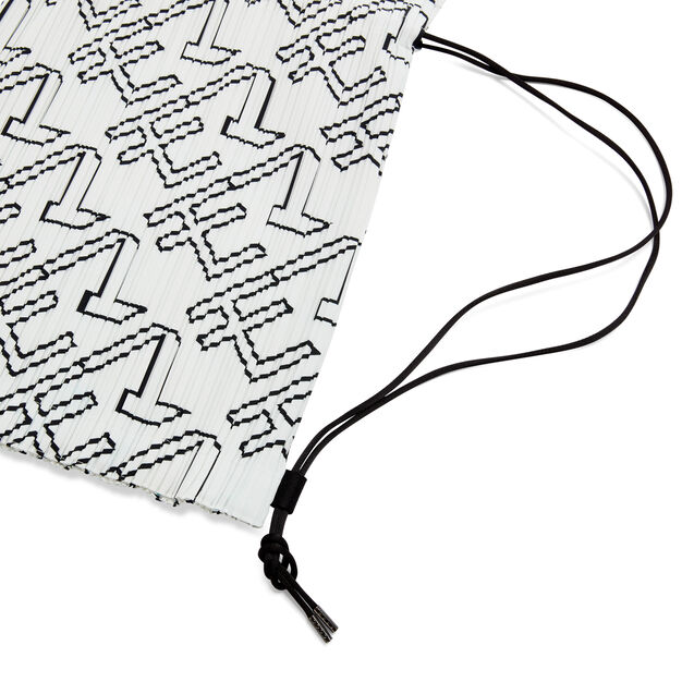 PLEATS PLEASE ISSEY MIYAKE Pleats Knapsack for MoMA in color White