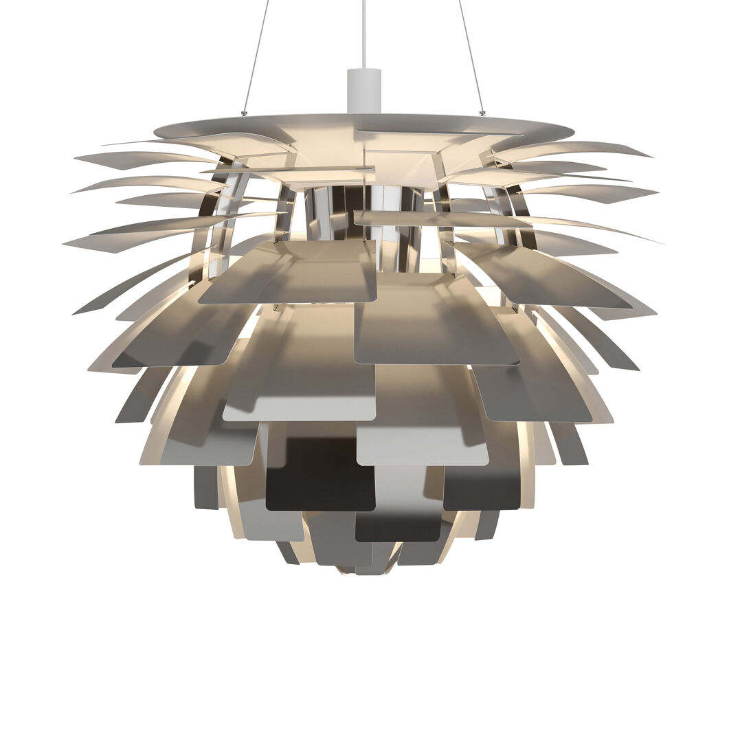 PH Artichoke Pendant Lamp in color Silver