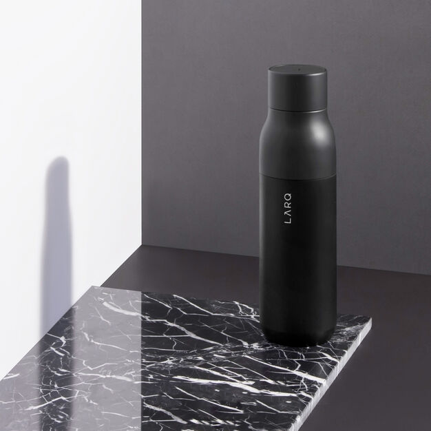 LARQ Self-Cleaning Water Bottle in color Black