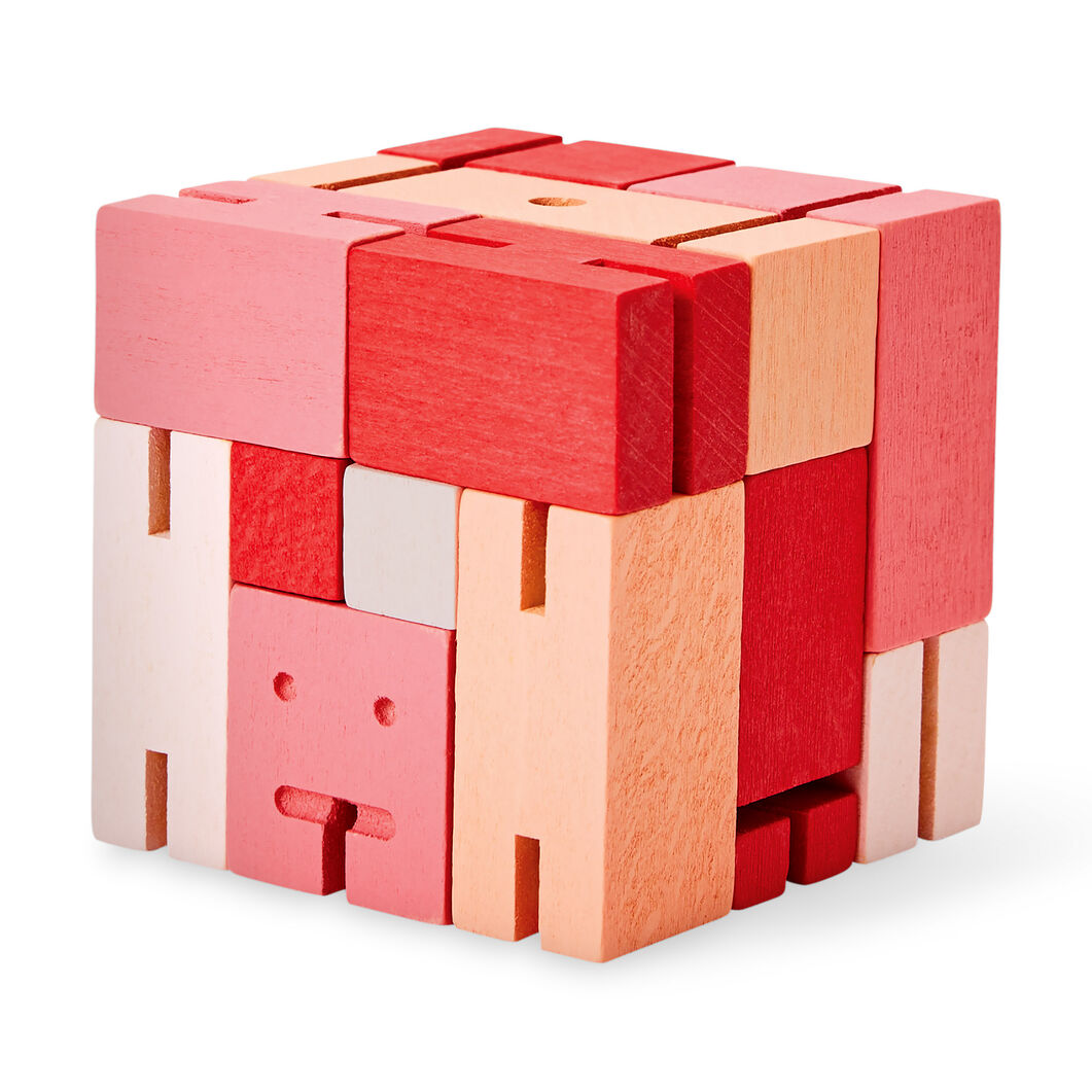 Cubebot® Capsule in color Red