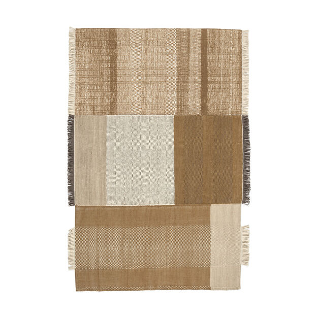 Nanimarquina Tres Rug in color Ochre