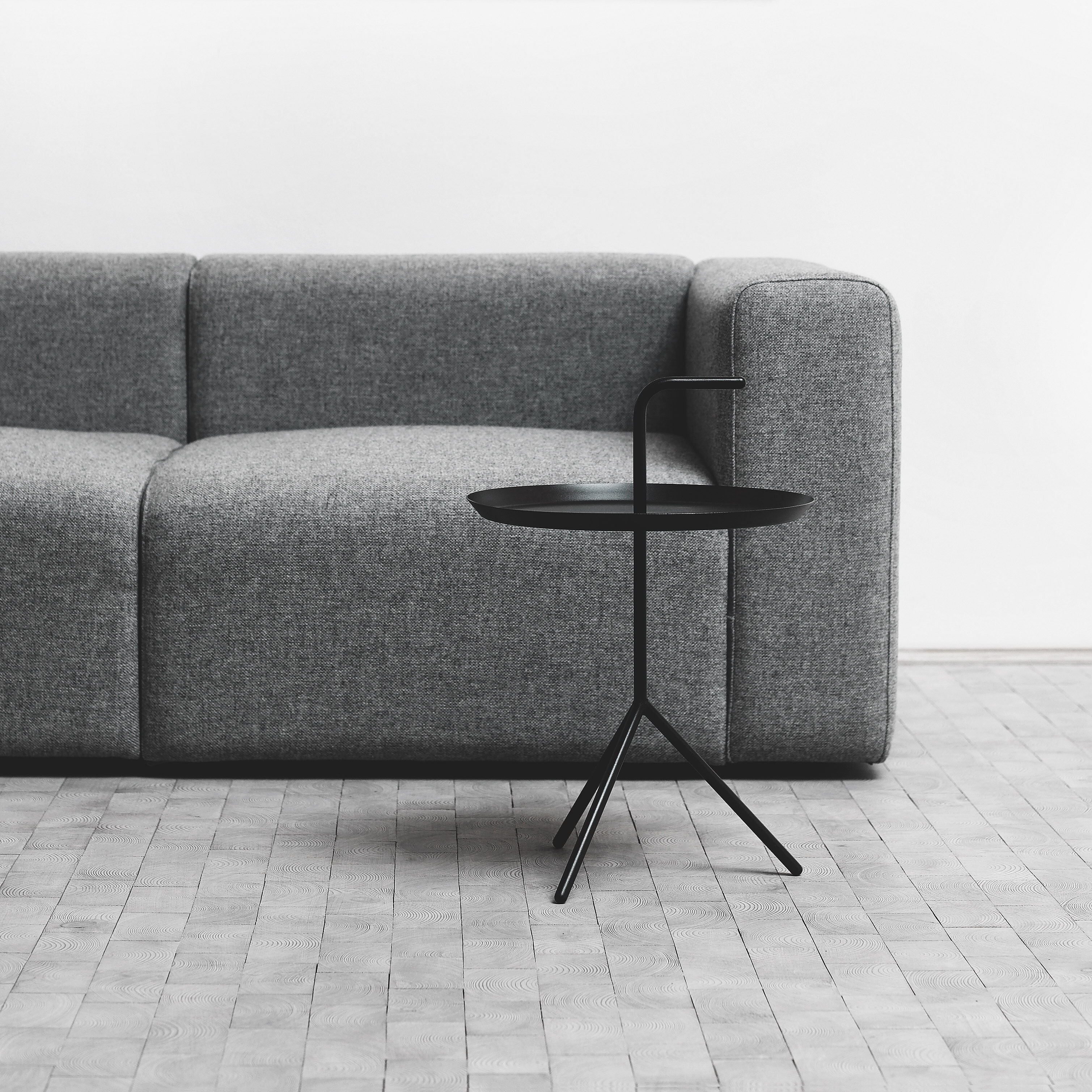 HAY Mags Three Seater Sofa In Color Gray