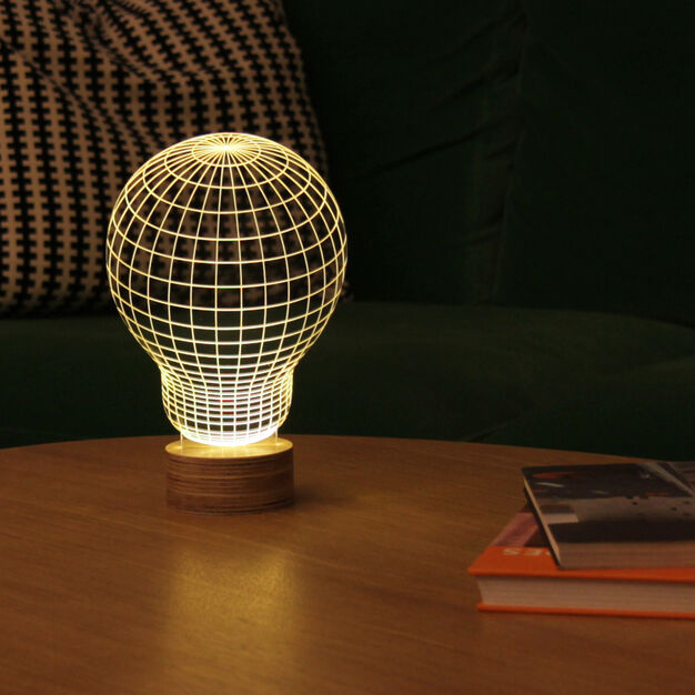 Bulbing Table Lamp in color
