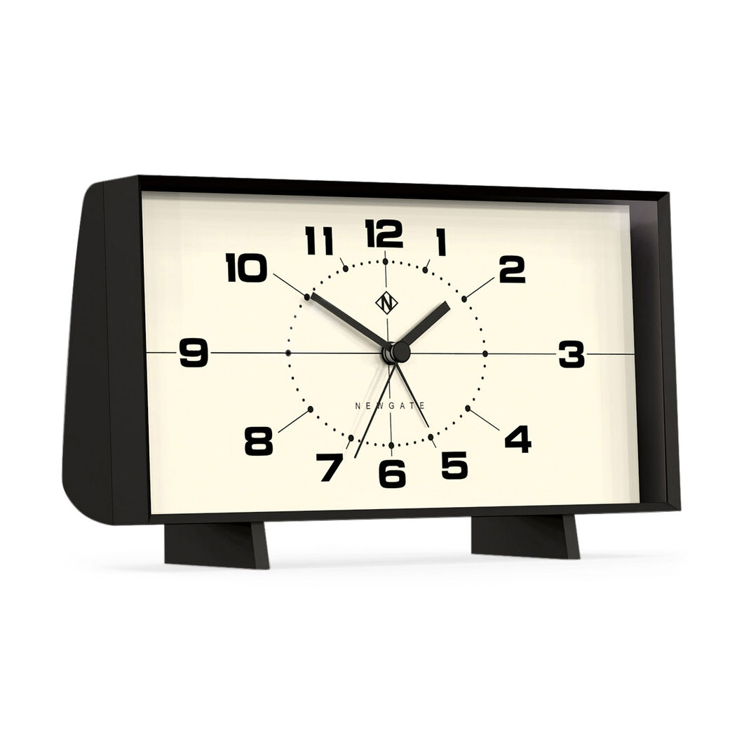 Wideboy Alarm Clock in color Black/White