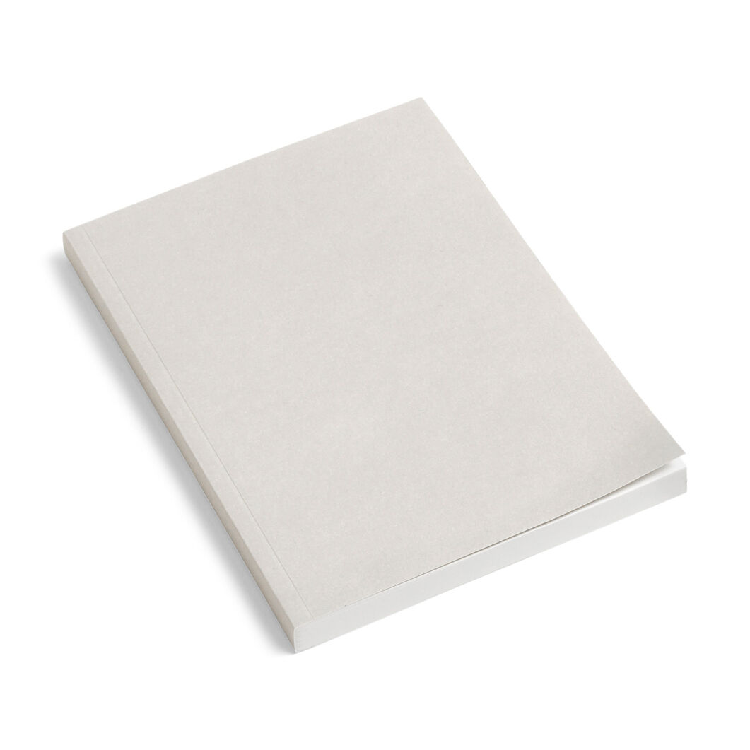HAY Mono Notebook in color Light Grey