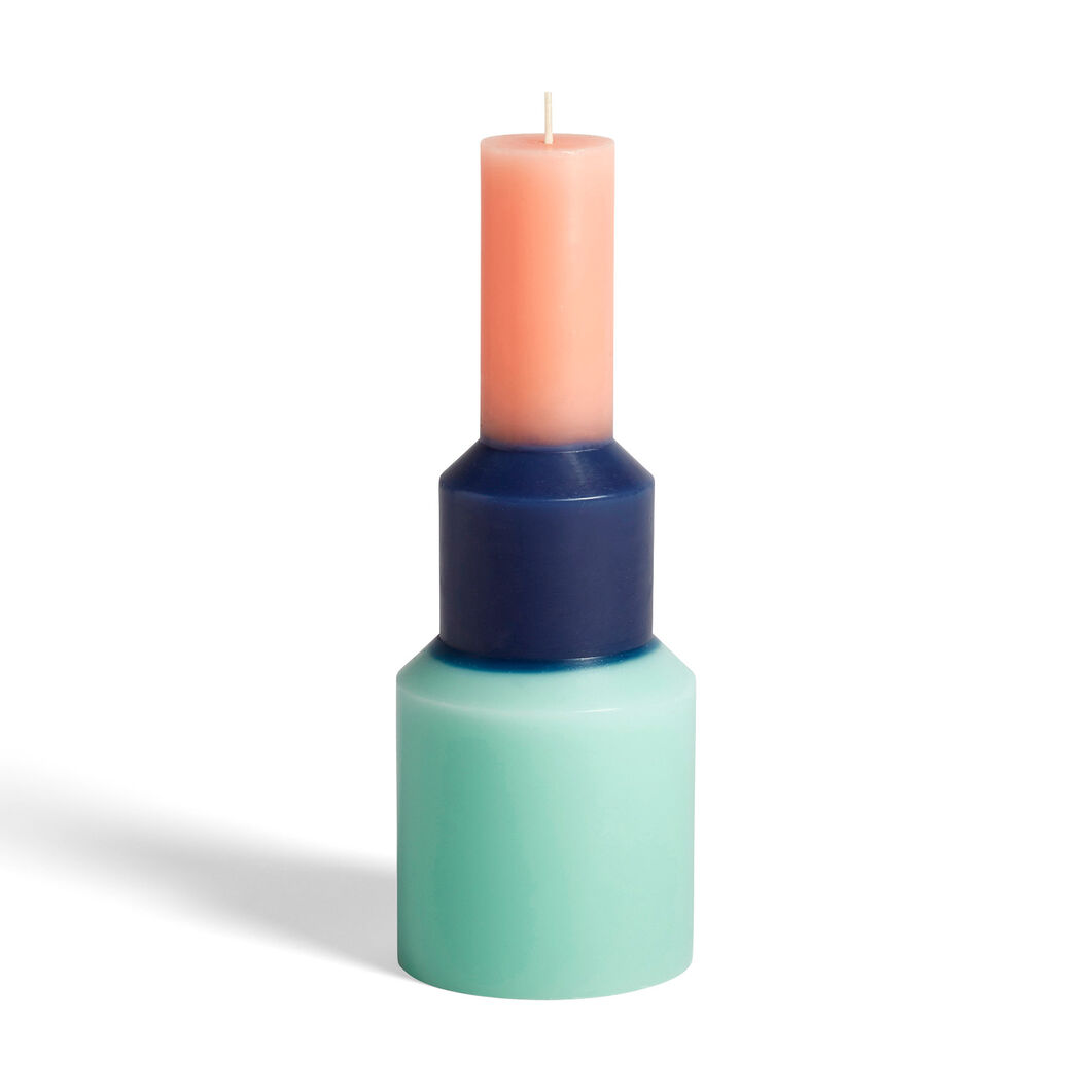 HAY Pillar Candle in color Mint