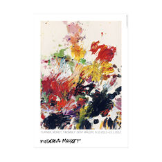 Cy Twombly: Untitled Poster in color