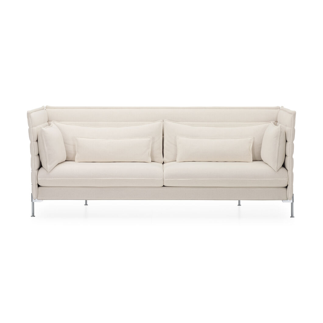 Alcove Sofa Three-Seater in color Cream