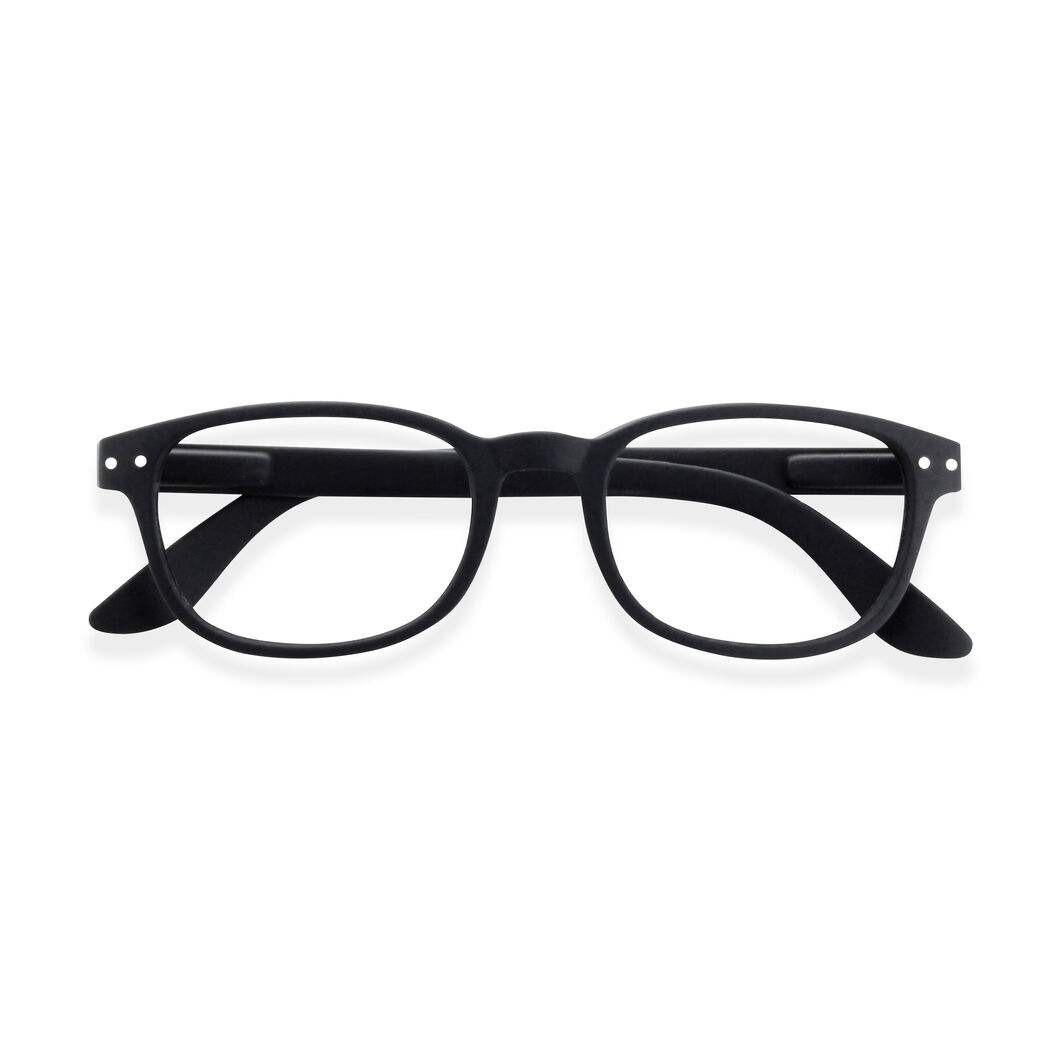 IZIPIZI Reading Glasses #B Black in color Black