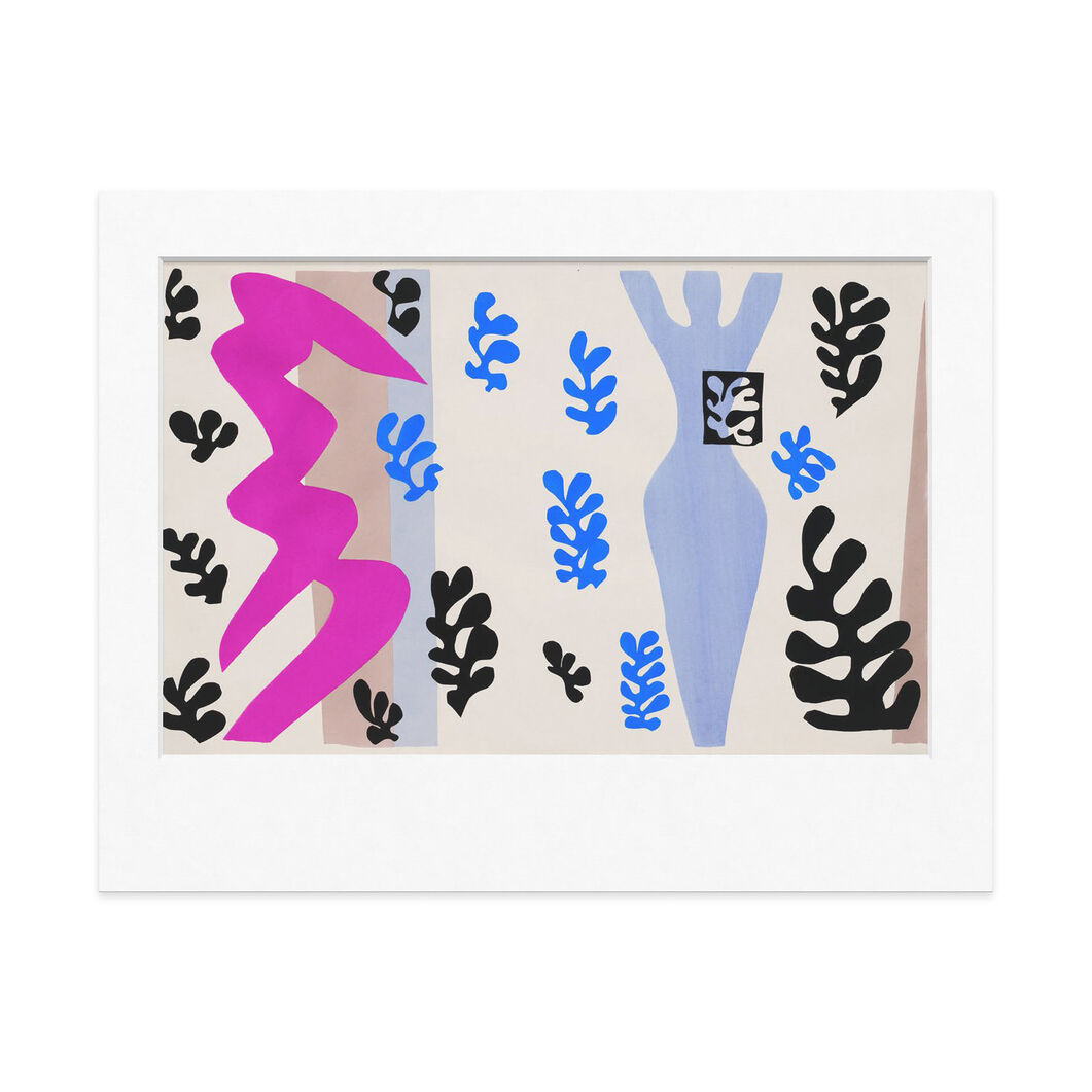 Henri Matisse: The Knife Thrower 11 x 14 in color