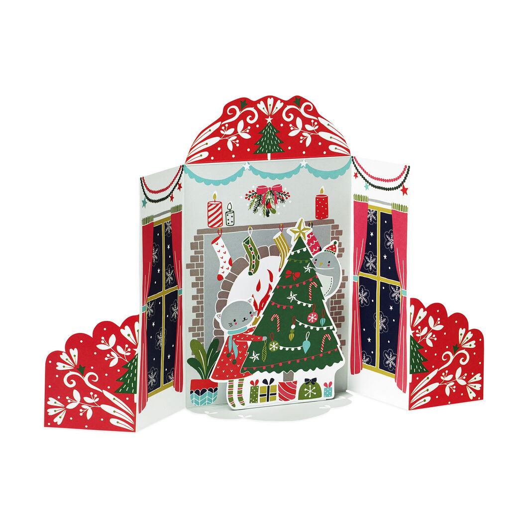 Holiday Hearth Holiday Cards (Box of 8) in color