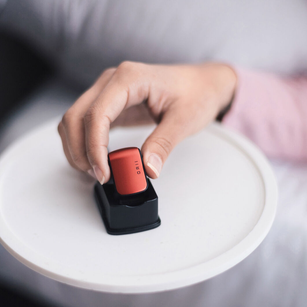 ORII Voice Assistant Ring in color Red