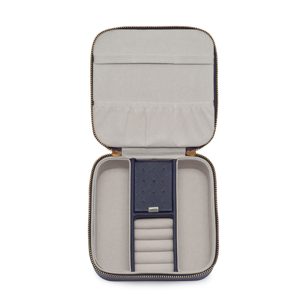 Travel Jewelry Box in color Navy