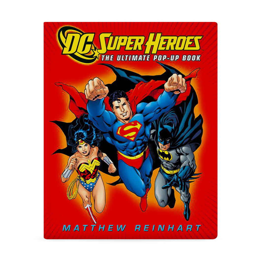 DC Super Heroes: The Ultimate Pop-Up Book in color