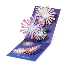 Fireworks Holiday Cards - Set of 8 in color