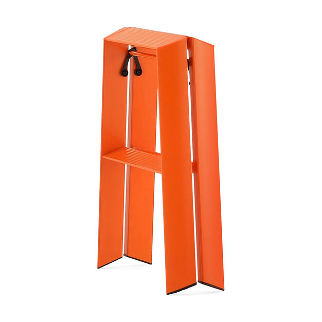 Lucano Step Stools- One Step in color Orange