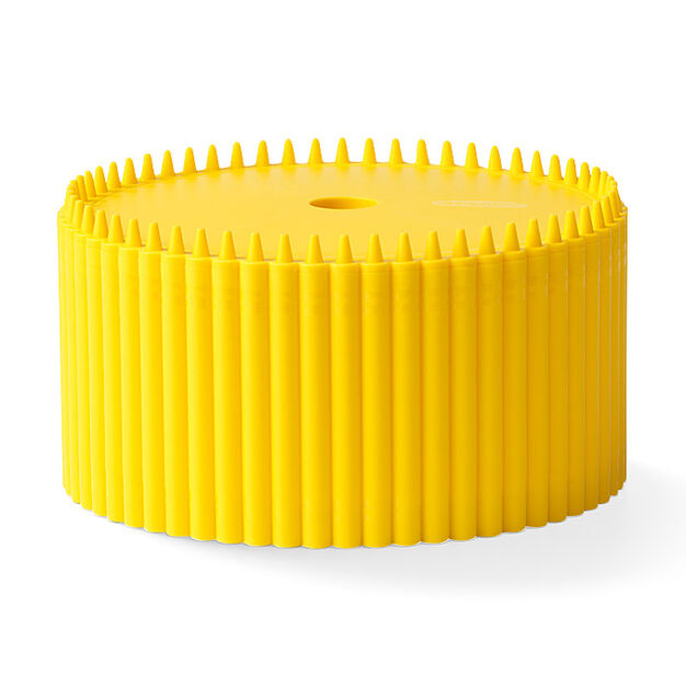 Crayola® Storage Bin with Lid in color Yellow