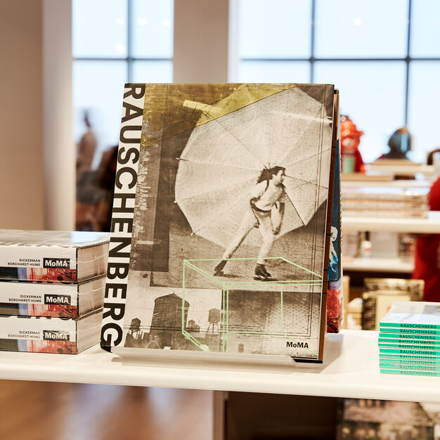 Robert Rauschenberg - Hardcover in color