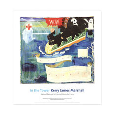 Kerry James Marshall: Great America Poster in color