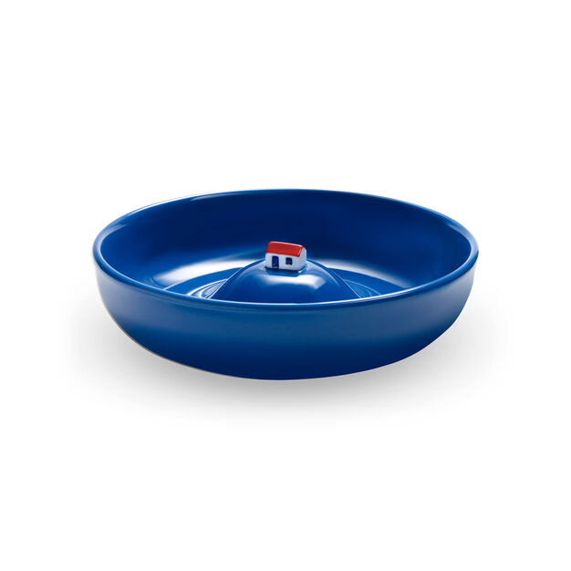 La Maison Inondée Bowl in color Blue