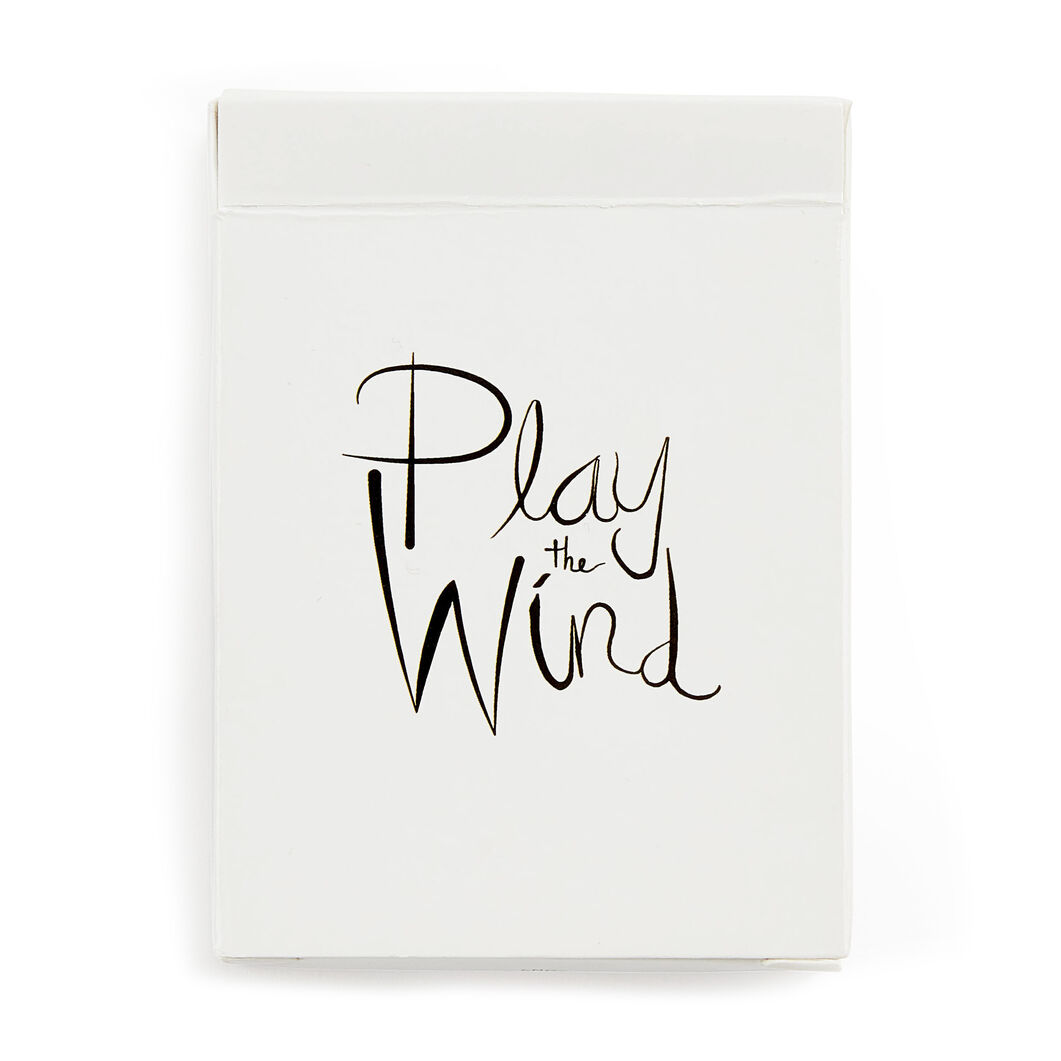 Play the Wind Alex Prager Playing Cards in color