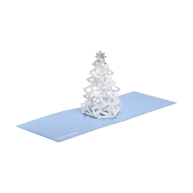 Shimmering Tree Holiday Cards in color